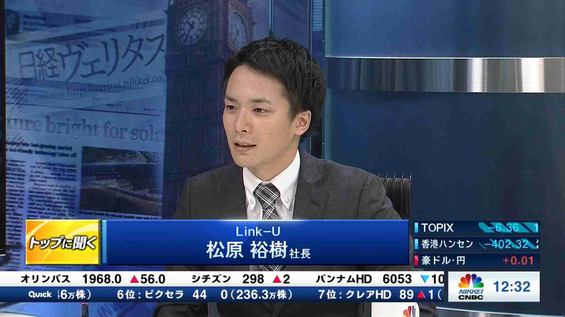 株価 link u