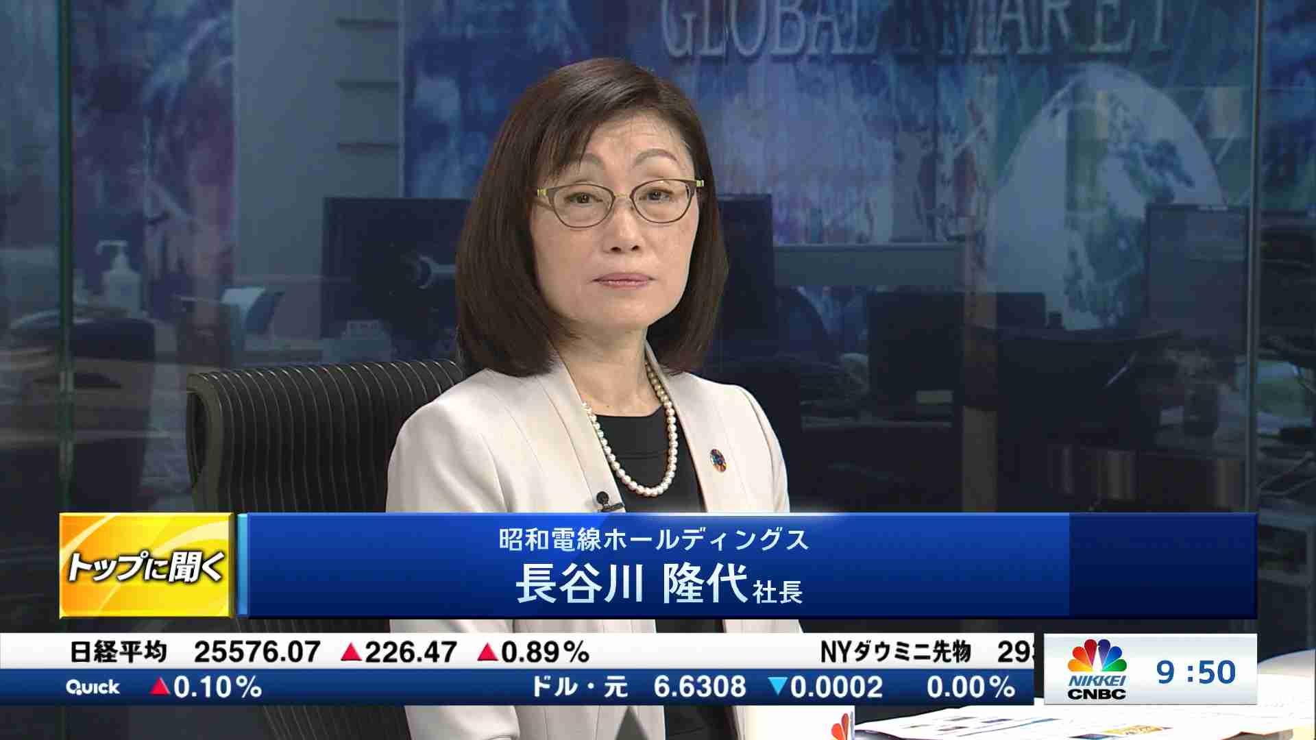 株価 昭和 電線